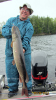 Northern Pike caught with iTroll!