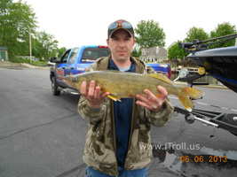 Walleye caught with iTroll!