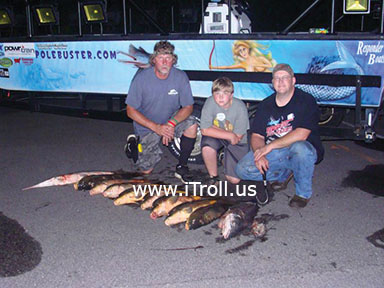 Outstanding bowfishing with iTroll!